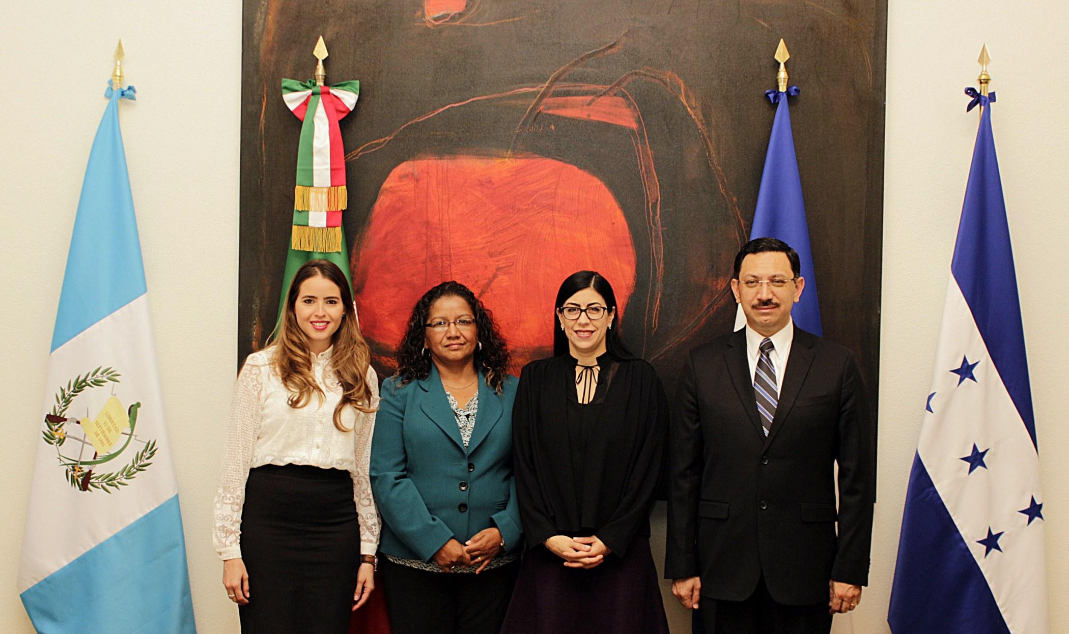 M Xico Guatemala El Salvador Y Honduras Eval An Juntos Fen Meno Migratorio Secretar A De