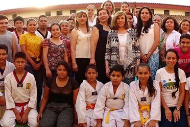 La Sra. Kena Moreno visita el CIJ Colima y el CIJ Manzanillo