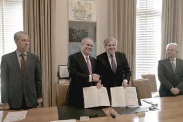 Suscribe Procurador Federal del Consumidor acuerdo de cooperación con la OEA