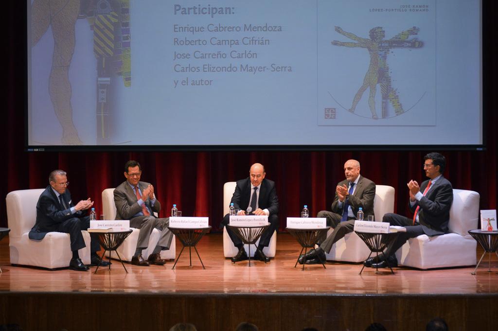 """Participantes en la presentación del libro """"La Gran Transición, Retos y Oportunidades del Cambio Tecnológico Exponencial"""""""
