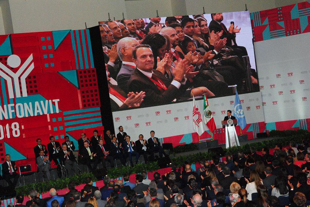 Inauguración de la Cumbre Infonavit 2018