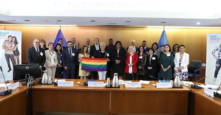 La CONAMED participa en una Reunión de pares en la sede de la OMS en Washington, D.C.