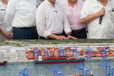 Supervisión de avance Nuevo Puerto de Veracruz