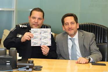 La Lotería Nacional para la Asistencia Pública (LOTENAL) dedicó su Sorteo Especial No. 206 al90 Aniversario de la Policía Federal