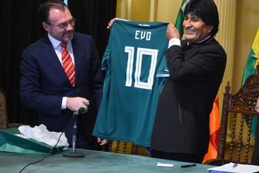Realiza el Canciller Videgaray visita oficial a Bolivia