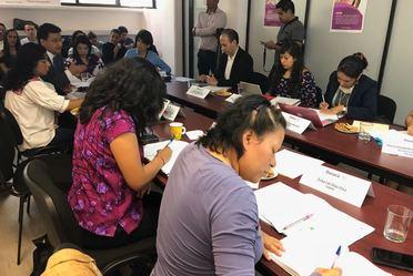 5a reunión del Grupo de Trabajo para atender la Solicitud de Alerta de Violencia de Género contra las Mujeres en Oaxaca