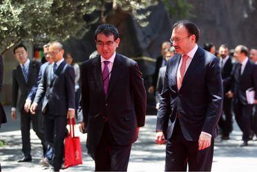 El Canciller Videgaray se reúne con el Ministro de Asuntos Exteriores de Japón
