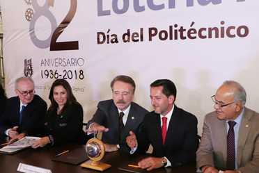"""""""El Instituto Politécnico Nacional destaca por contribuir, de manera incluyente, al desarrollo científico, a la creación de tecnología y a la innovación constante que demanda el avance de México"""": Eugenio Garza Riva Palacio"""