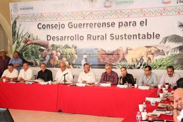 El INIFAP participa en el Consejo Guerrerense para el Desarrollo Rural Sustentable