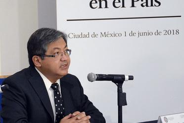 Conferencia de prensa: Condiciones meteorológicas de México.