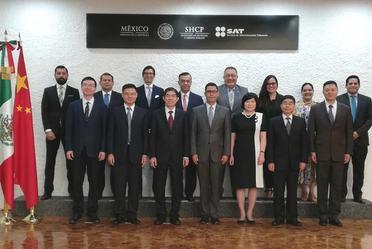 Reunión Bilateral México - China