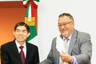 Funcionarios México y China