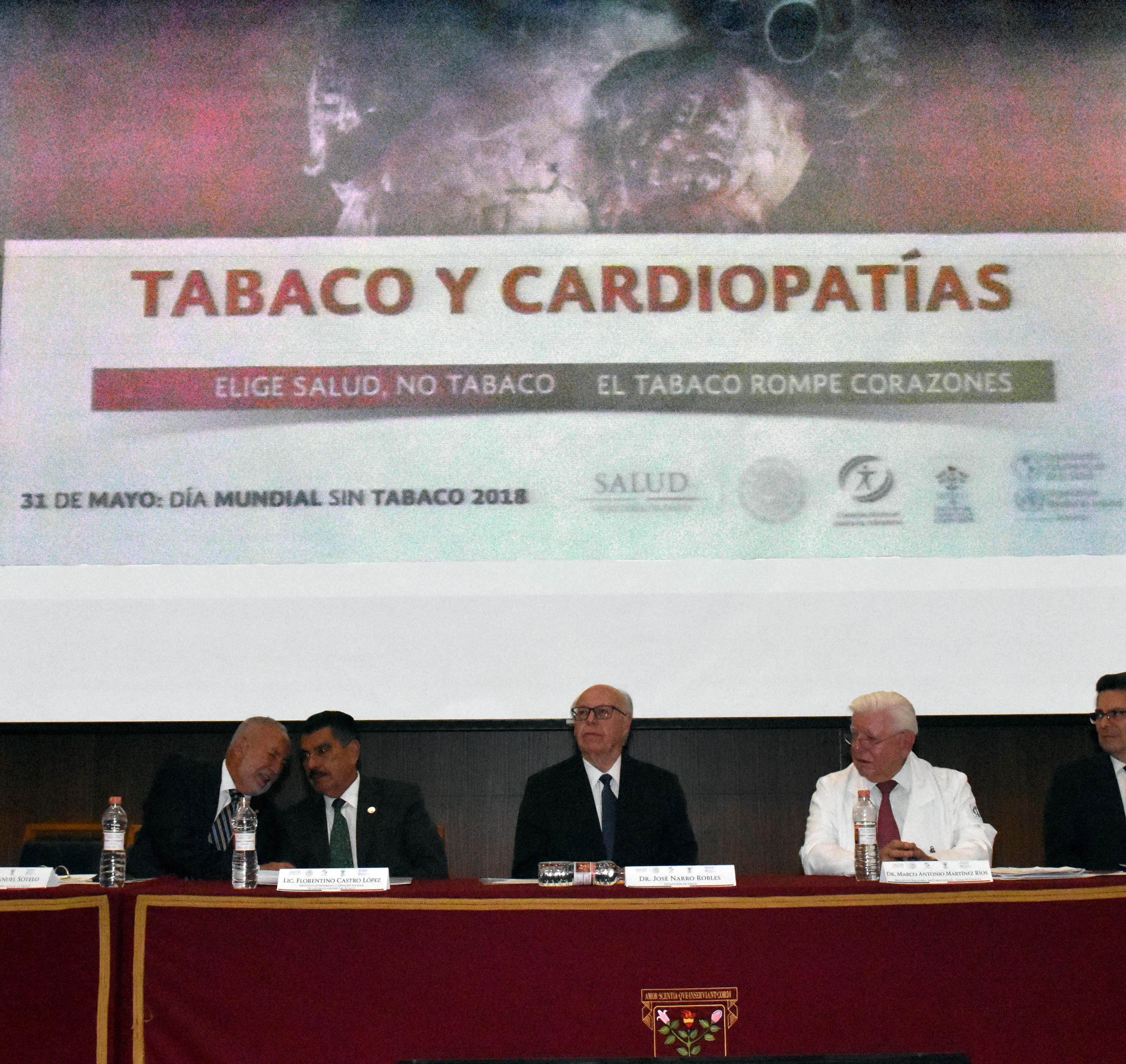 El combate al tabaquismo no debe tener ninguna consideración, ya que algunos sectores se benefician a costa del dolor humano.