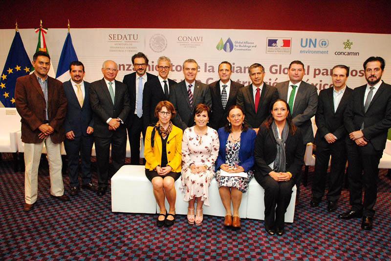 Lanzamiento de la Alianza Global para los Edificios y la Construcción México