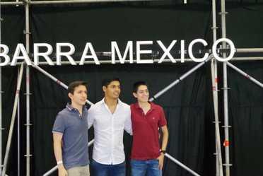 Mesa de negocios de Barra México