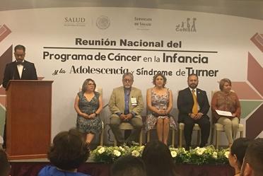 Inauguración de la Reunión Nacional del Programa de Cáncer en la Infancia y la Adolescencia 2018