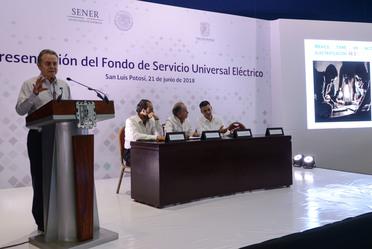 Presentación del Fondo de Servicio Universal Eléctrico.