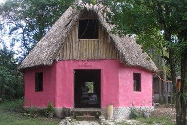 Taller artesanal en Calakmul