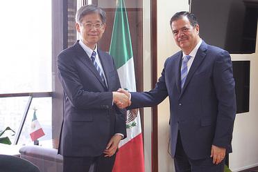 Reunión con Embajador de Japón en México