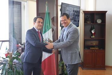 Reunión con Director General de la Unidad Administrativa Migración de Colombia