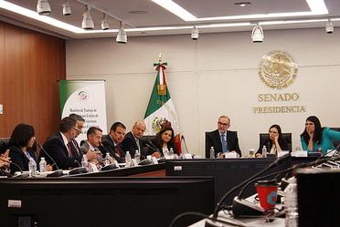 Reunión de Trabajo de las Comisiones Unidas de Relaciones Exteriores y de Relaciones exteriores de América del Norte