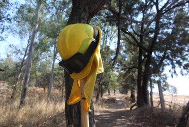 equipo de protección de combatiente de incendios forestales
