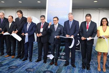 "Corte de listón en EXPO ""INA PAACE Automechanika 2018"