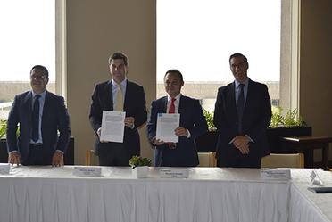 Firma de Convenio de Colaboración entre ARTF y CANACERO