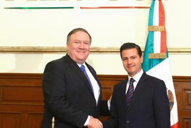 Reunión con delegación del gobierno de Estados Unidos.