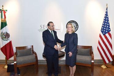Reunión de trabajo con la Secretaria de Seguridad Interna de EUA, Kirstjen Nielsen