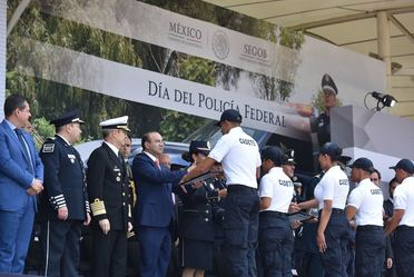 Conmemoración del 90 Aniversario de la Policía Federal