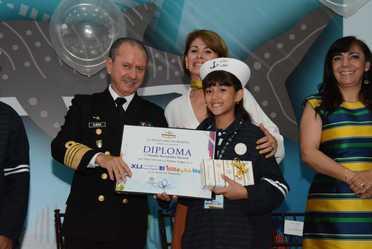 La Secretaría de Marina-Armada de México reconoce el talento de la niñez mexicana, al premiar a los ganadores