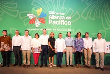 El Secretario de Economía en el marco de la XIII Cumbre de la Alianza del Pacífico