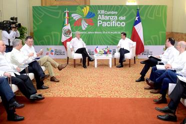 Encuentro de presidentes de AP