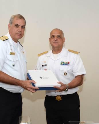 El Director de Puertos y Costas de la Marina de Brasil realizó una visita de cortesía a la UNICAPAM