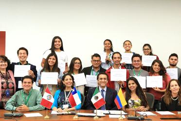 Clausura inauguración del Voluntariado Juvenil de la Alianza del Pacífico en México