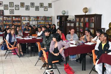 Uno de los temas de la sesión fue la planificación adecuada de los aprendizajes