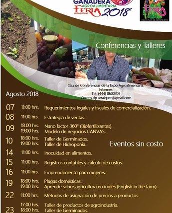 Expo Ganadera Agroalimentaria 2018 Feria Nacional Potosina