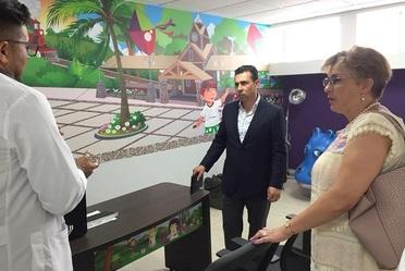 Antonio Chemor Ruiz, Comisionado Nacional del Seguro Popular, realizó un recorrido por el Centro Regional de Desarrollo Infantil y Estimulación Temprana en Nayarit.