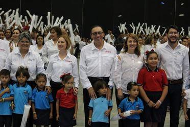 Enrique Torres Rivera, director general del Conafe, encabezó arranque de ciclo escolar 2017-2018 en Tamaulipas.
