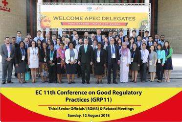 11va Conferencia de Buenas Prácticas Regulatorias de APEC 2018 organizada por México y Papúa Nueva Guinea