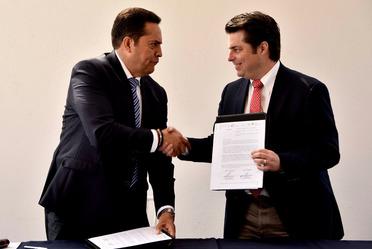Firma de convenio FND - CONAFOR