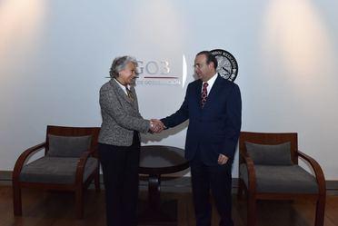 ALFONSO NAVARRETE PRIDA Y DE LA EXMINISTRA OLGA SÁNCHEZ CORDERO