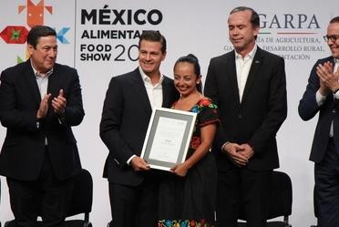Funcionarios del Gobierno Federal inauguran la México Alimentaria 2018.