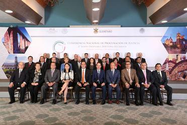 fotografía oficial de la 2a Sesión ordinaria de la CNPJ