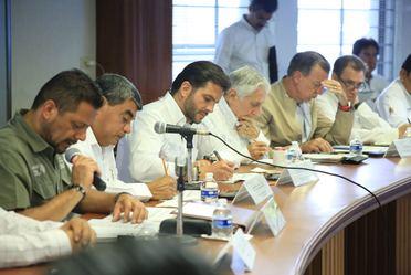 Sesión del Comité para la atención de manatíes