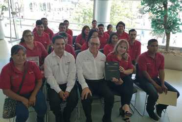 Inauguran la primera generación de la carrera el director general del Conafe y el rector de la UPNECH