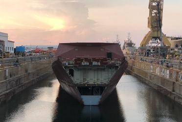 Construcciones Navales en Astilleros de SEMAR