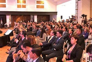 Foto de los asistentes durante el Foro Mundo4T