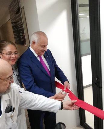 Inauguración del Banco de Sangre